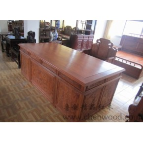 红木家具办公桌