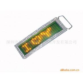 生产LED皮带扣,胸牌,狗牌