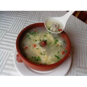 汽锅肉丸汤