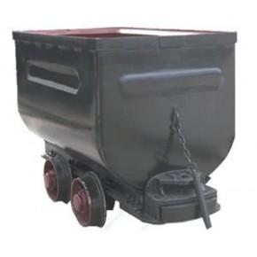 河南省林州市浩锋矿车生产脚踏侧卸式矿车等各种型号矿车