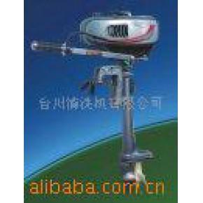 橡皮艇木船垂钓船用船外机(发动机)外挂机 2马力2