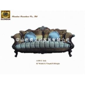样板房布艺沙发,广东奥兰顿样板房家具订做订制