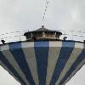 玻璃钢烟囱新建、混凝土烟囱翻模、伞形水塔新建——盐城秦高建安