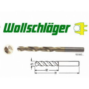 德国进口HSS镀钛高速钢麻花钻头