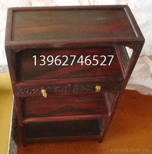 炫宇红木工艺品 书橱/微型家具/实木书柜书架