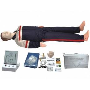 高级全身心肺复苏训练模拟人 医学模型 急救训练模型