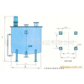 TJ型推进式搅拌机