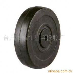 """空压机,手推车,发电机专用5寸""""橡胶轮"""""""