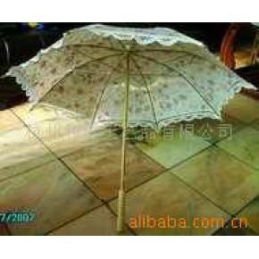 工艺伞(纯手工制作。木柄伞架)