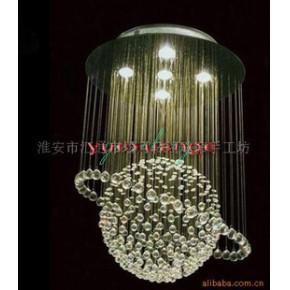水晶灯饰 现代水晶灯 工艺水晶灯 家居水晶灯 展示厅灯饰 吊灯
