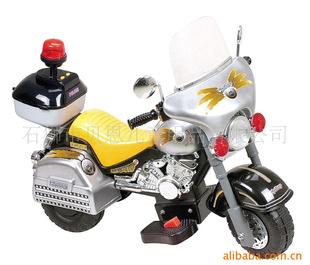 儿童电动摩托车(6698小哈里带后箱)