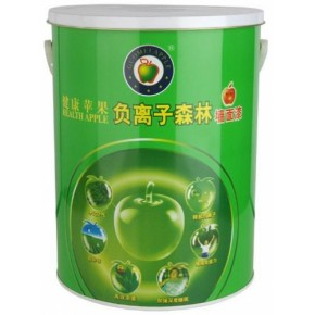涂料加盟|健康苹果漆|江门市苹果化工|广东涂料负离子森林墙面漆
