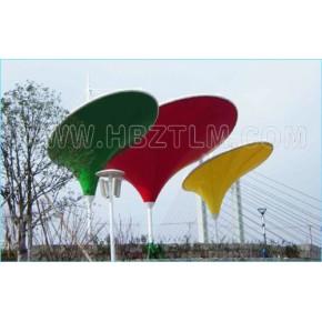 湖北蕲春县张拉景观膜结构