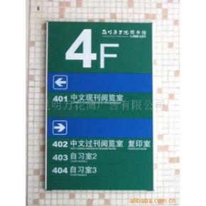 标识标牌设计制作--楼层索引牌