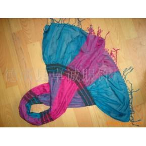 仿羊绒绉巾 160*30+20