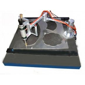 气压型玻璃手动异型机