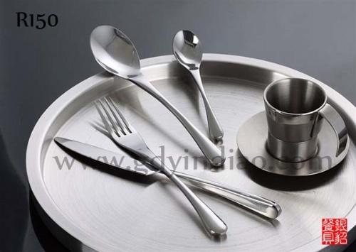 欧式复古简易厨房餐具刀叉油画装饰画
