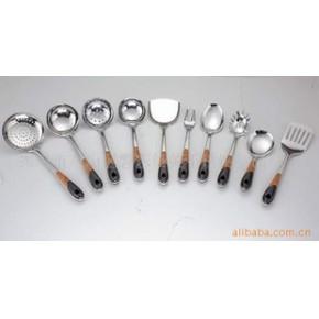 【】供应双色电木柄系列产品/不锈钢厨具/电木柄/实用