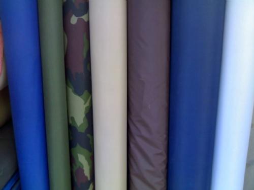 涤棉斜纹染色布