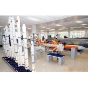航空展览厅模型 美联模型