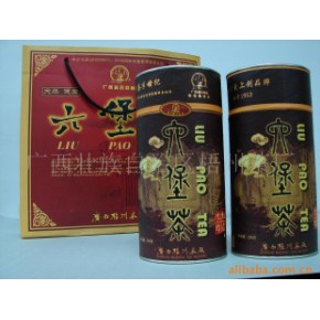 批发供应三鹤牌200克装椭圆形纸罐六堡茶
