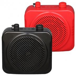 老人晨练机FM收音,USB,TF插卡带混响锂电池扩音机洪韵H