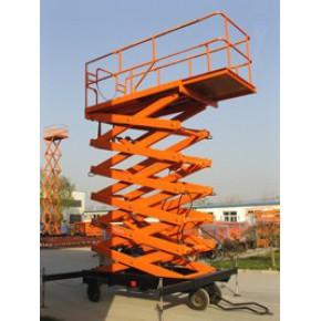 四轮移动式液压升降平台、鑫泰剪叉式液压升降机、电动液压式升降