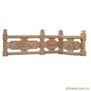 东阳木雕东艺古建木雕-栏杆