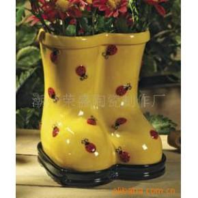 陶瓷花盆,陶瓷摆设品,花盆