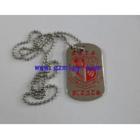 广州金属吊牌制作,狗牌制作,不锈钢吊牌制,标牌制作厂