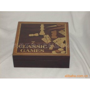 木制工艺品盒,漂亮箱子,木盒,铝合金框架式木盒