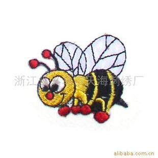 小蜜蜂刺绣 刺绣