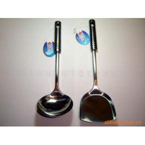 不锈钢厨具,铲勺,钢柄铲勺