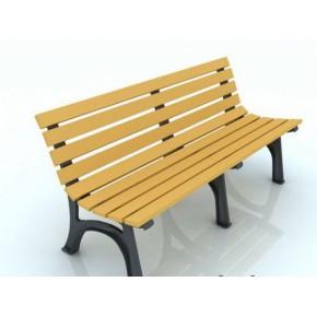 山东木塑休闲椅厂家 山东景观座椅价格青岛泰旭木业