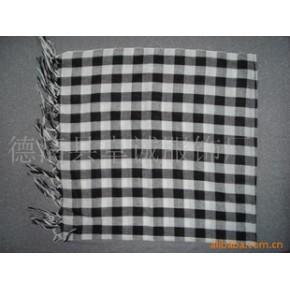 小方格围巾 90*90+20