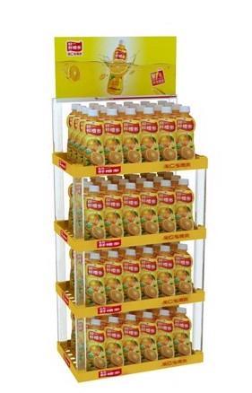 厂商饮料展示货架 饮料展示陈列架 饮料超市货架