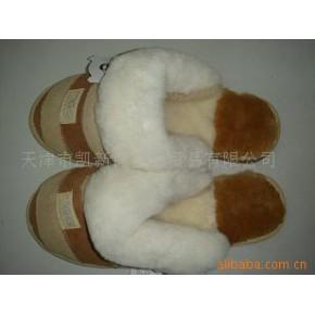 大量生产 供应澳洲羊剪绒靴子/拖鞋
