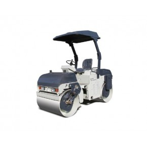 齿轮传动小型压路机一拖洛建吨压路机华通公司