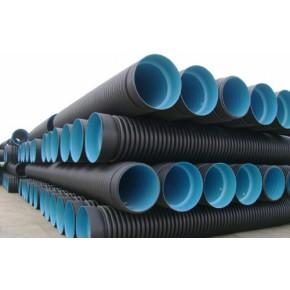 云南昆明HDPE双壁波纹管厂家批发 云南HDPE波纹管 PE