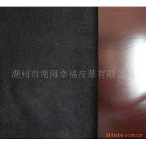 羊绒鞋面革 黑色 浙江湖州南浔