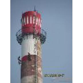 高空防腐公司-烟囱写字-烟囱描图-烟囱防腐