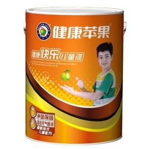江门苹果化工健康苹果漆宝宝儿童乳胶漆  AP3306