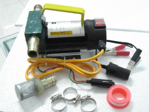 12V 24V加油泵抽油泵 自吸泵柴油泵 直流油泵 点烟器插头 微型抽油泵