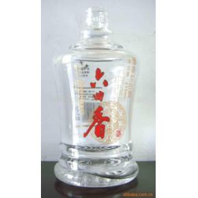 酒瓶花纸 玻璃 酒瓶 玻璃制品