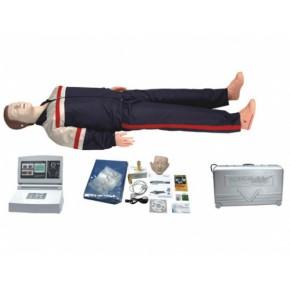 高级中屏幕液晶自动电脑心肺复苏模拟人 医学教学模型 急救模型