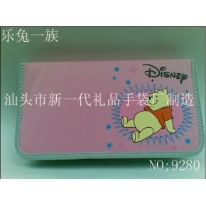 企业生产80片CD袋 72片CD包 迪士尼64CD包 卡通64片光盘袋