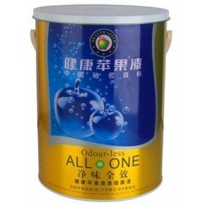 涂料加盟|健康苹果漆|江门市苹果化工|净味全效尊贵墙面漆乳胶漆