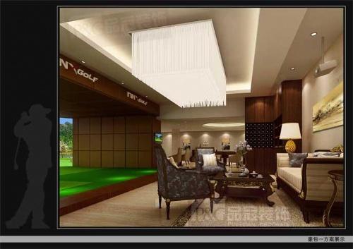 室内装修设计方案 吧台装修效果图 郑州装饰设计公司