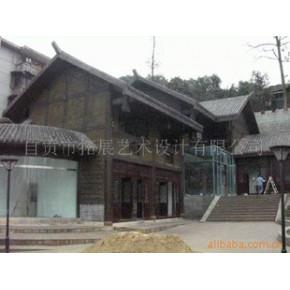 仿古建筑工程施工、环境艺术装饰、