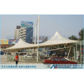 福建省南安市张拉景观膜结构